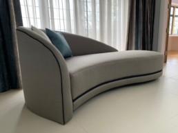 Grey suede Furniture Luton
